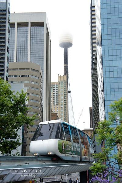 El monorail de la ciutat de Sydney