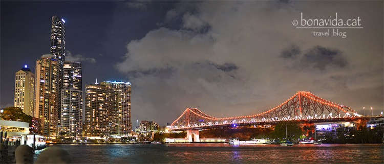 Brisbane a la nit