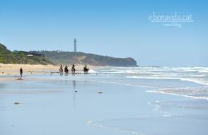 Passejant a cavall a Fairhaven Beach