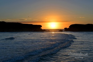 Posta de sol a Stingray Bay, a la ciutat de Warrnambool