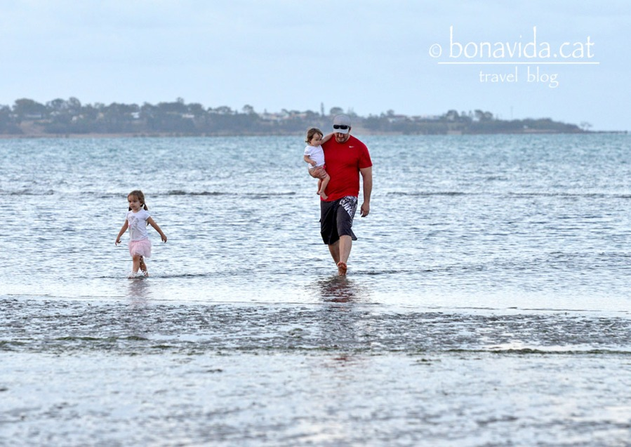 Família i platja, una combinació molt habitual a Austràlia