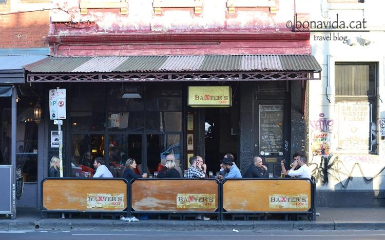 Bars i restaurants del barri de Fitzroy