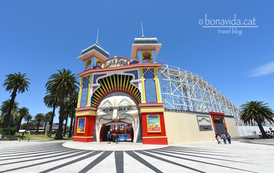 Luna Park, el Parc d'atraccions de Melbourne
