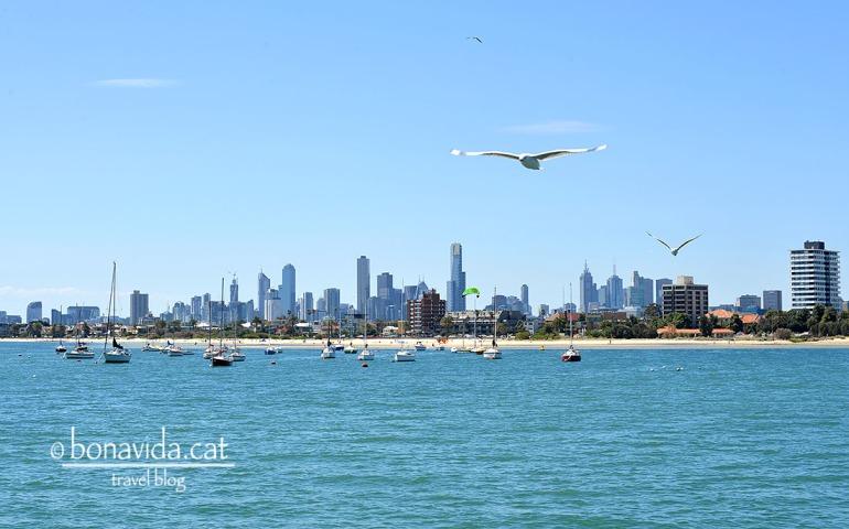 Skyline de Melbourne