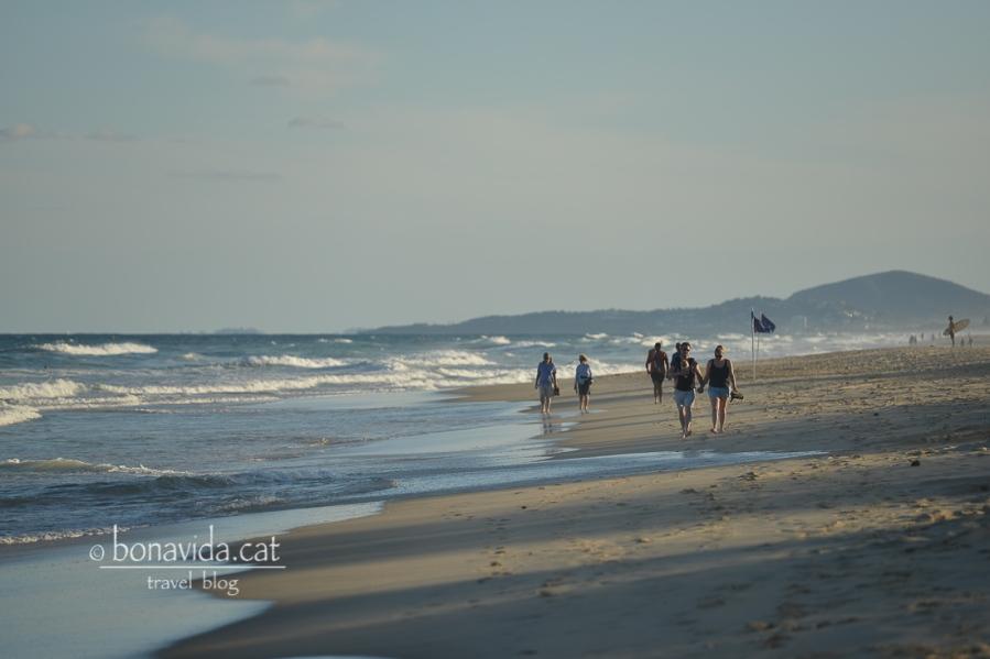 Sunrise Beach al capvespre