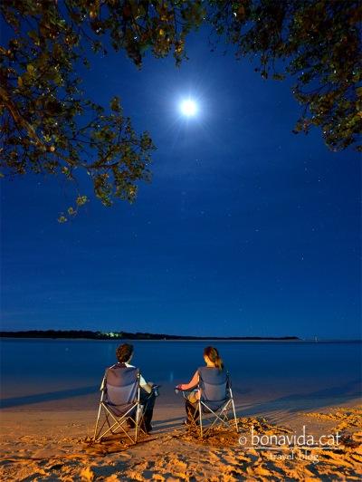 Sopant sota la lluna