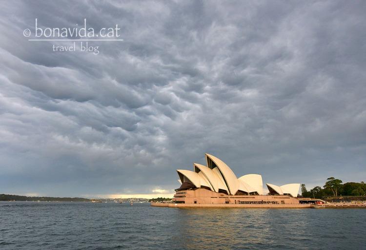 Amenaça tempesta sobre l'Opera House