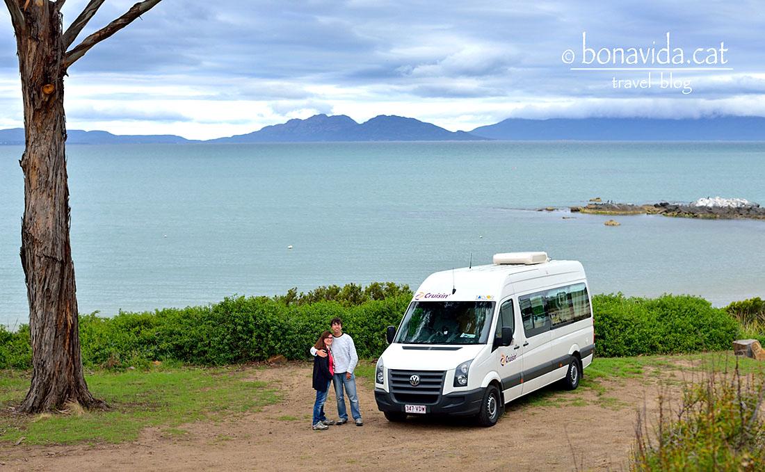 australia tasmania swansea beach nosaltres caravana