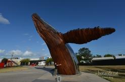 Escultura de la balena Nala