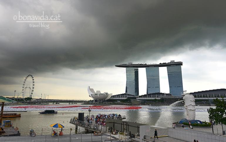 L'hotel Marina Bay Sands de Singapur