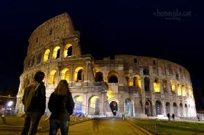 Davant del Colosseo. Roma