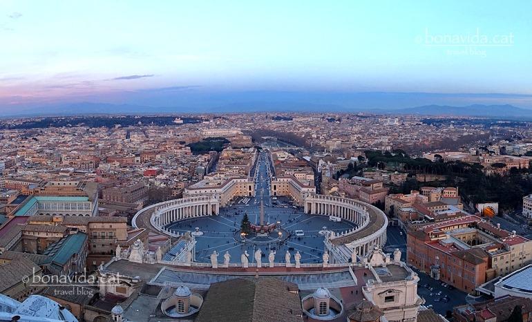 Unes vistes increíbles des de la Cúpula de la Basílica