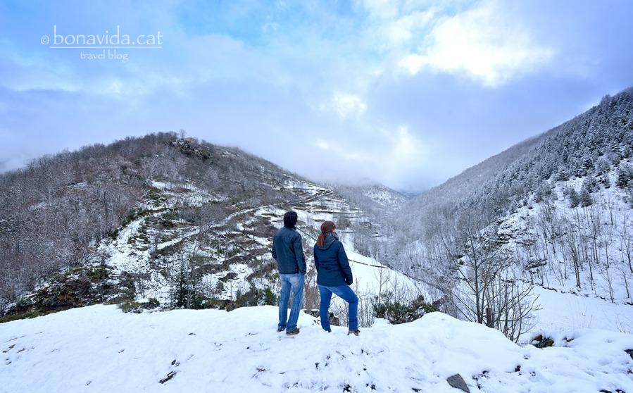 LEs vistes de la vall són increïbles
