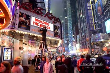 Els teatres de Brodway són un altre reclam turístic