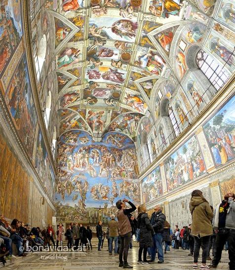 Roma. Museu Vaticani. Capella Sixtina