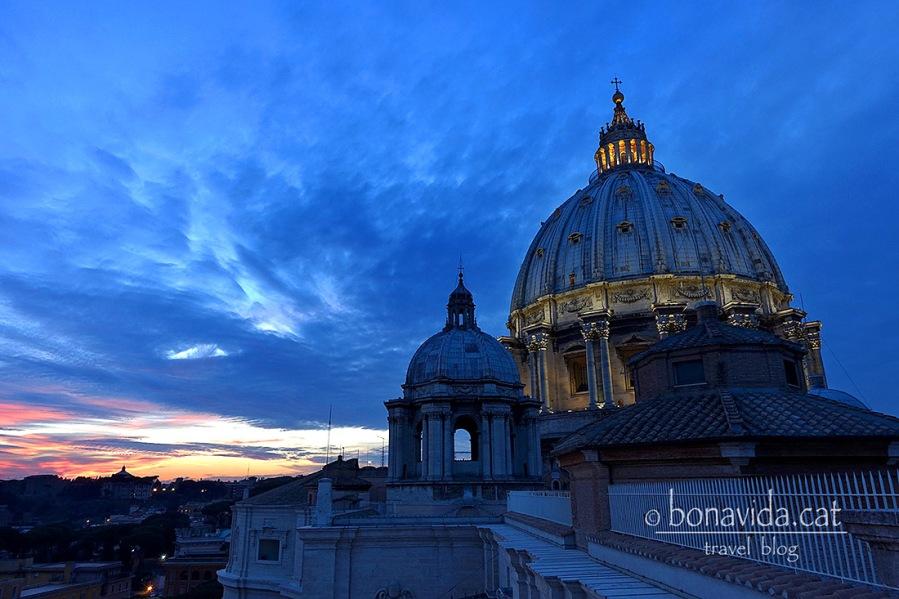 roma cupula santpere sunset
