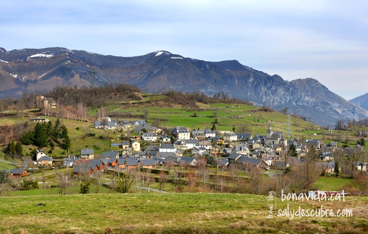 Al poble d'Arcizans-Avant