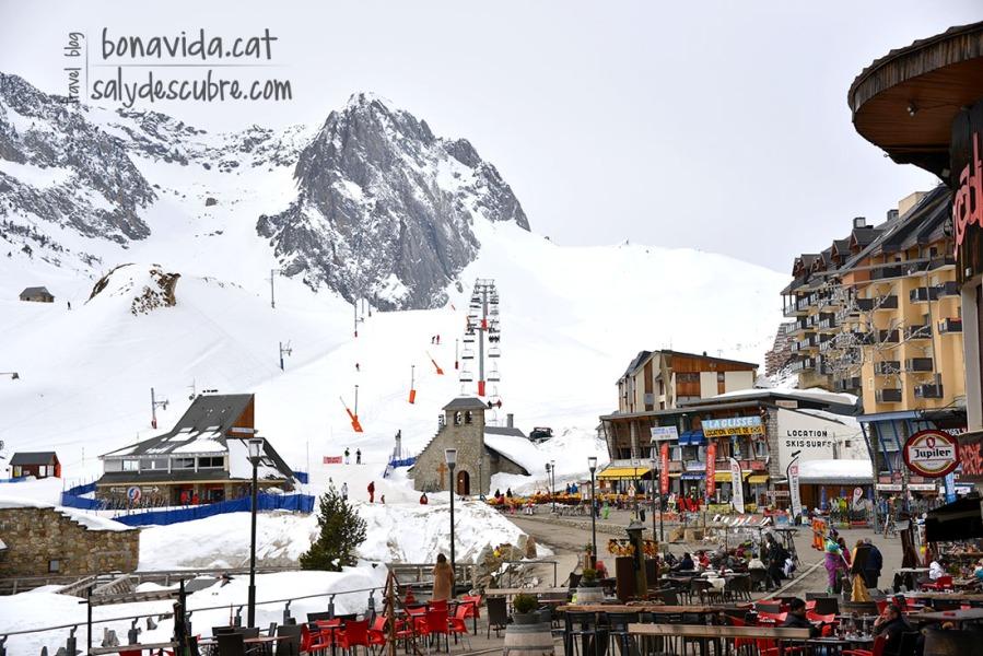 Estació d'esquí al Tourmalet