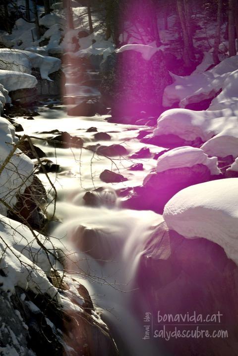 Els rius van plens d'aigua