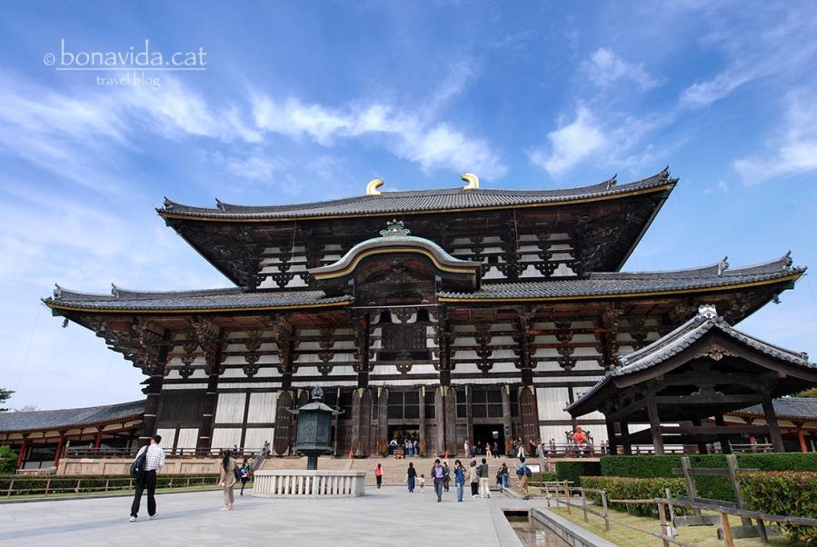 El Temple de Tōdai-ji és el més popular