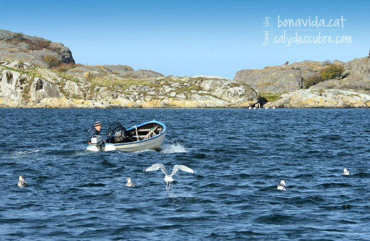 Pescadors sortint a navegar