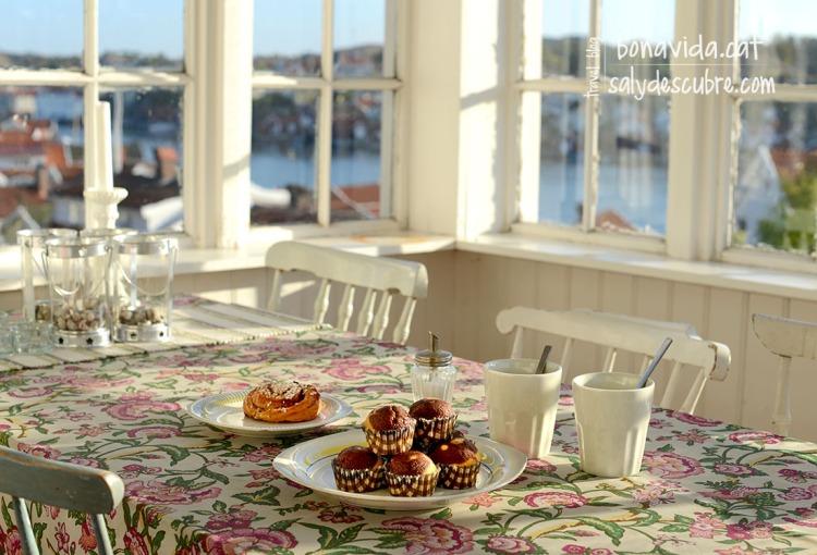 Esmorzar cada dia amb les millors vistes