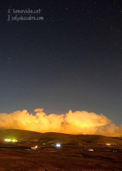 A la nit, el cel estrellat és espectacular!
