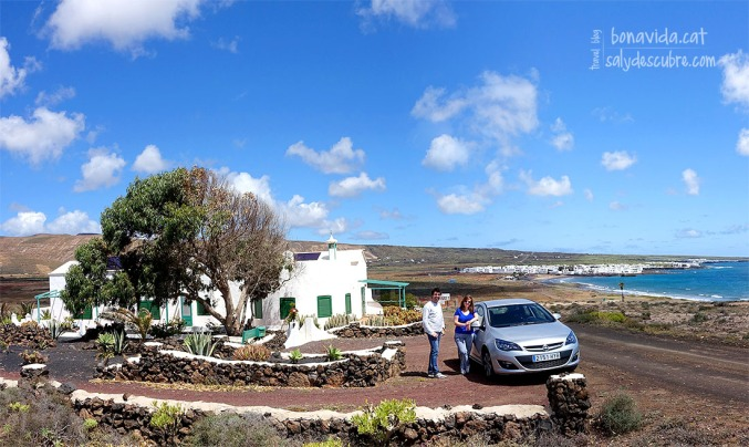 La casa on ens allotgem durant l'escapada a Lanzarote