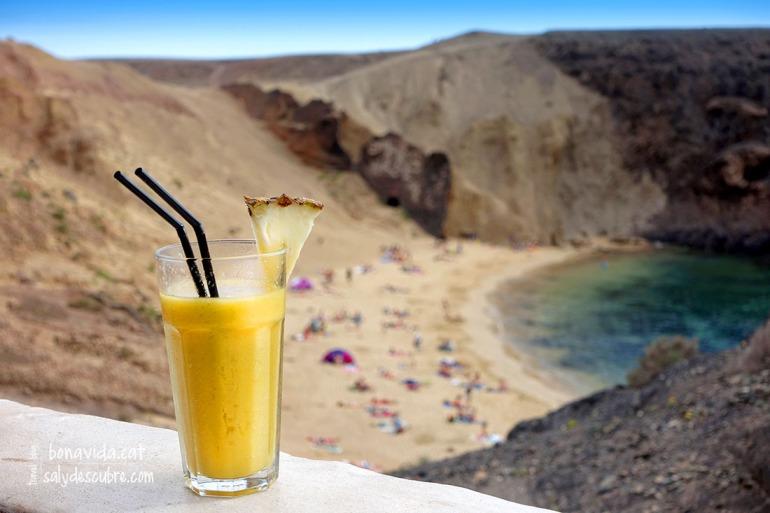 Disfrutant de la platja Papagayos