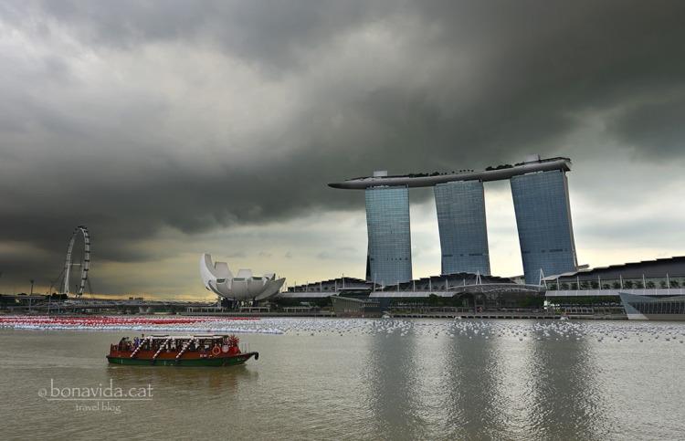 L'hotel Marina Bay Sands és tot un emblema a Singapur