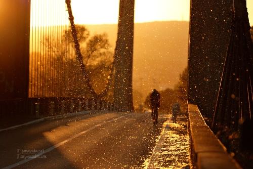 Pont de Manosque. La Provence, França