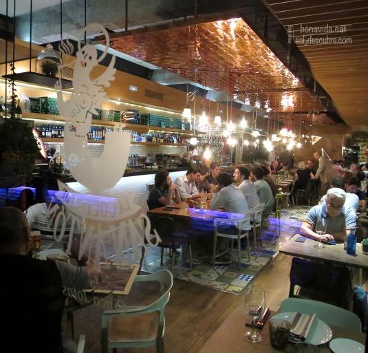 Els restaurants del Mercado de San Anton