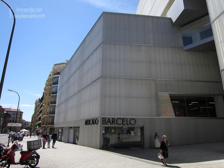 L'edifici del Mercado Sanildefonso és una mica diferent al que ens imaginem per a un mercat...