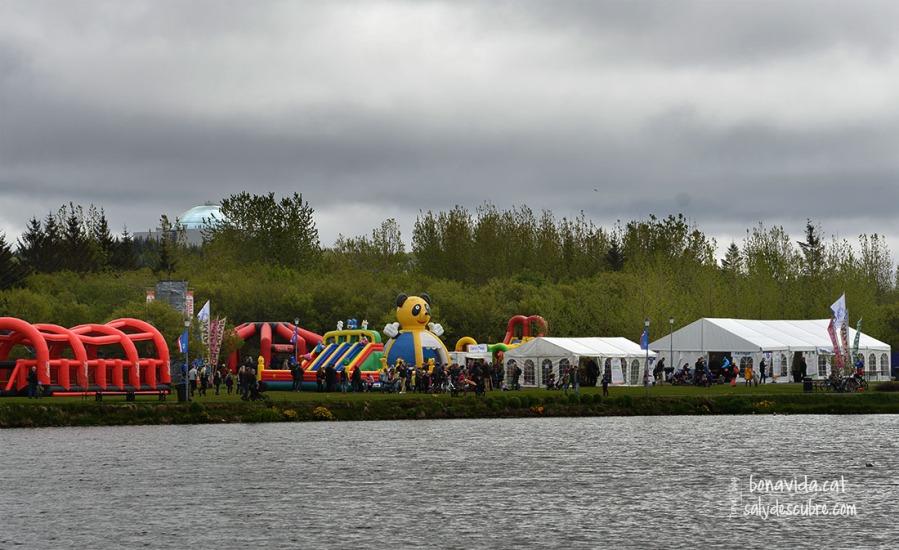 Atraccions firals a Hljómskálagarður