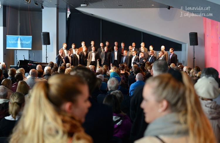 Concert de cant a l'Ajuntament
