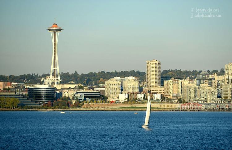 Seattle i la famosa Space Nedle