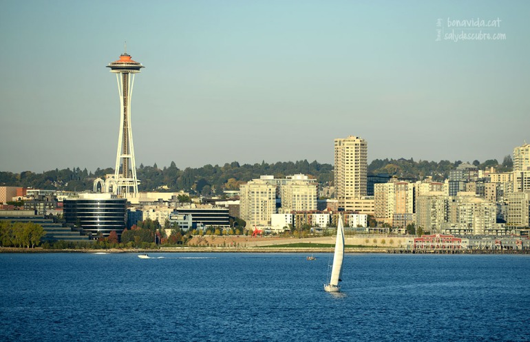 Seattle i la famosa Space Nedle