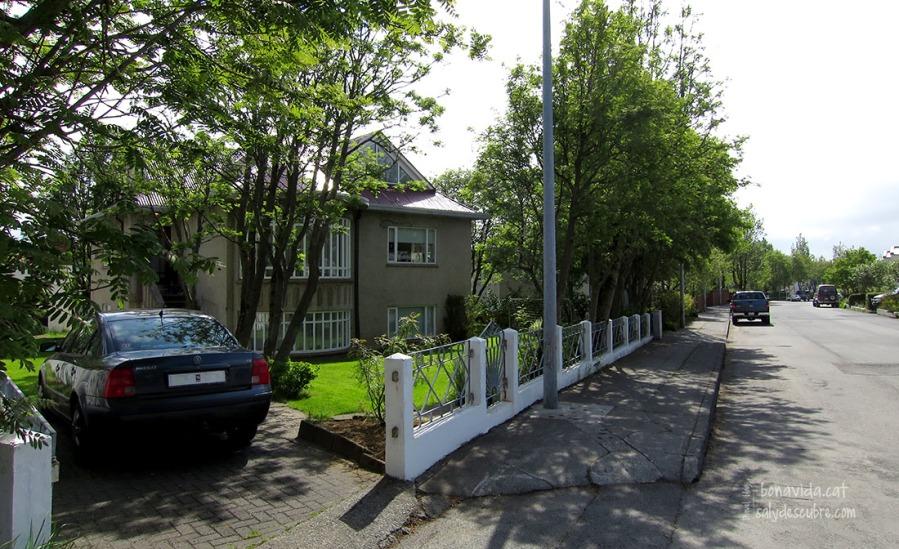 El barri on ens allotgem és molt tranquil