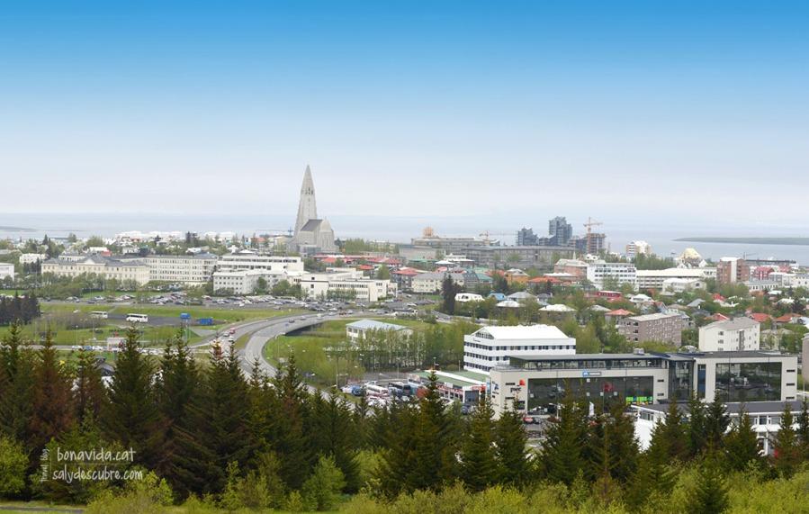 islandia reykjavik city