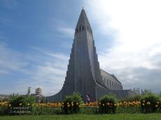 Hallgrims és la principal església de Reykjavik. I la seva arquitectura sorprén!