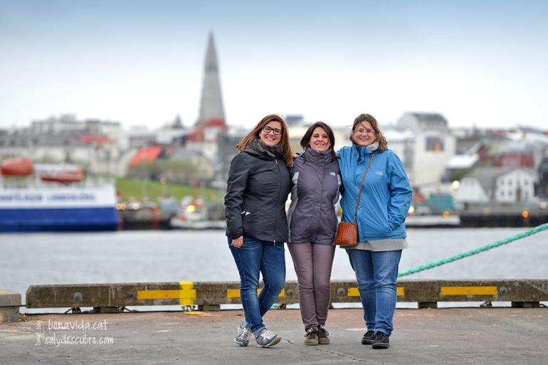 La Cristina, l'Anna i la Gemma. Welcome to Iceland!