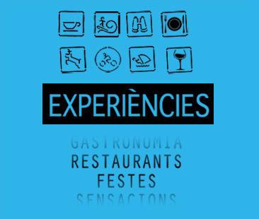 menu generic experiencies