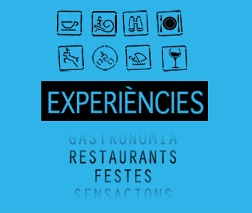 menu generic experiencies