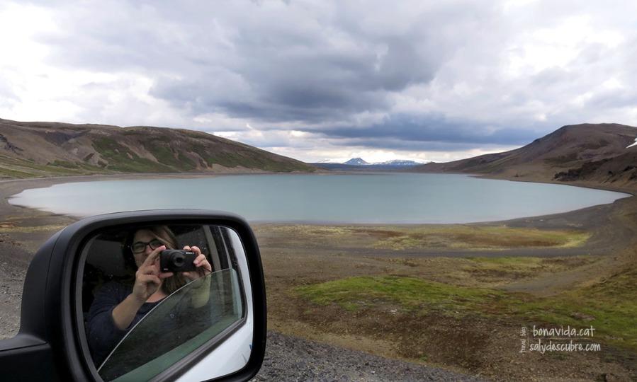 El llac Sandkluftavatn