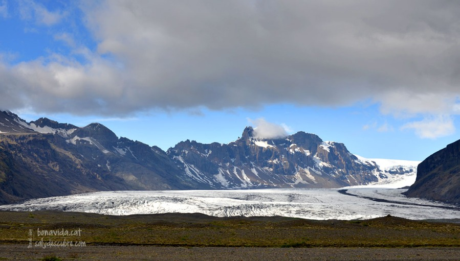 Glacera Svínafellsjökull