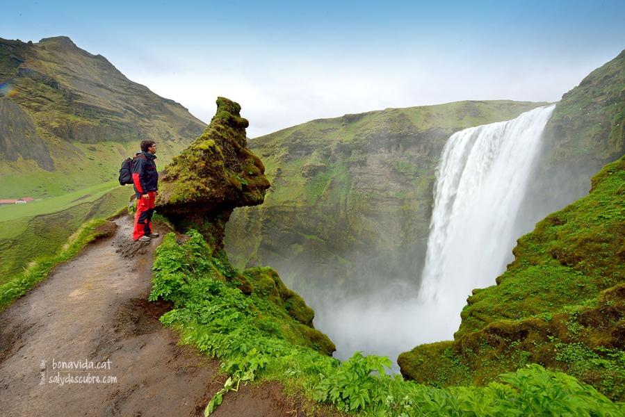 islandia skogafoss mane