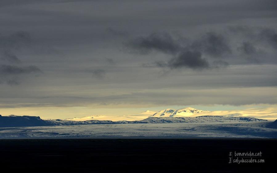 El Parc Nacional Vatnajökull és enorme
