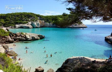 Cala Mitjaneta, Menorca