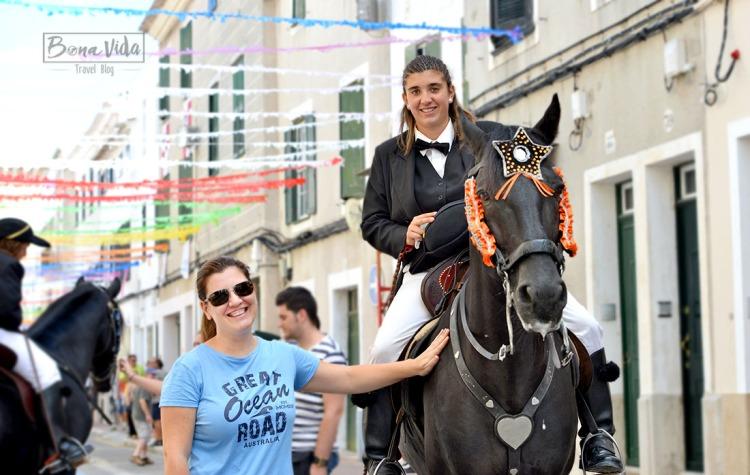 L' Ainhoa i el seu cavall Said, ens expliquen un munt de coses sobre els Jaleos.