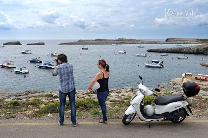 La moto ens permet moure'ns per tota la illa